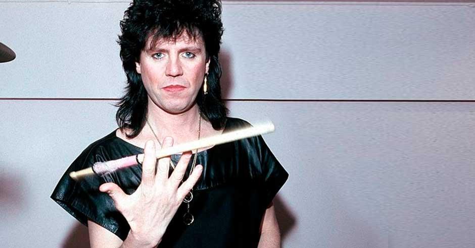 Mick Tucker, drummer of the Sweet.