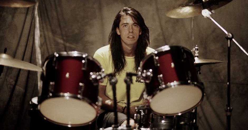 Dave Grohl from Nirvana.