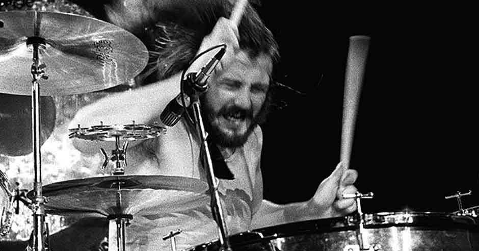 John Bonham from Led Zeppelin.
