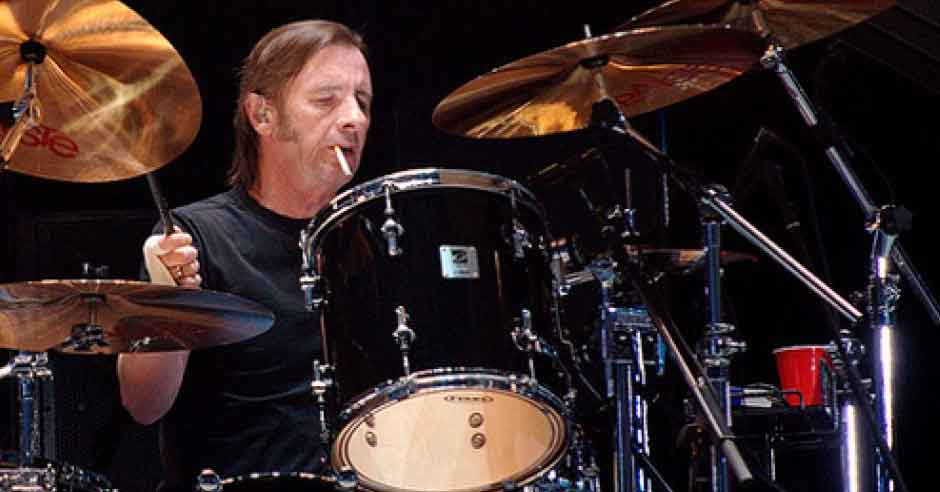 Phil Rudd of AC/DC.